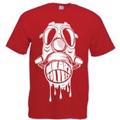 Image of We Are Rollers Gasmask Red T-Shirt