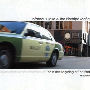 Image of Infamous Jake & The Pinstripe Mafia - This is the Beginning of the End LP