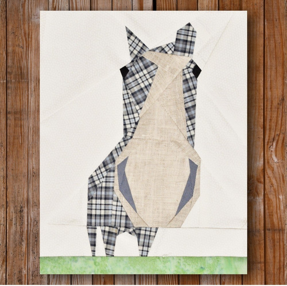 Quilt Patterns With Horses : Artisania Peeping Horse 8