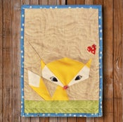 "Image of Lil' Fox  8"" x 10"" Quilt Block Pattern PDF"