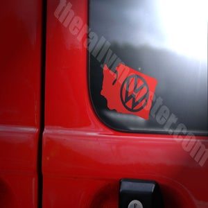 Image of VW Washington Sticker