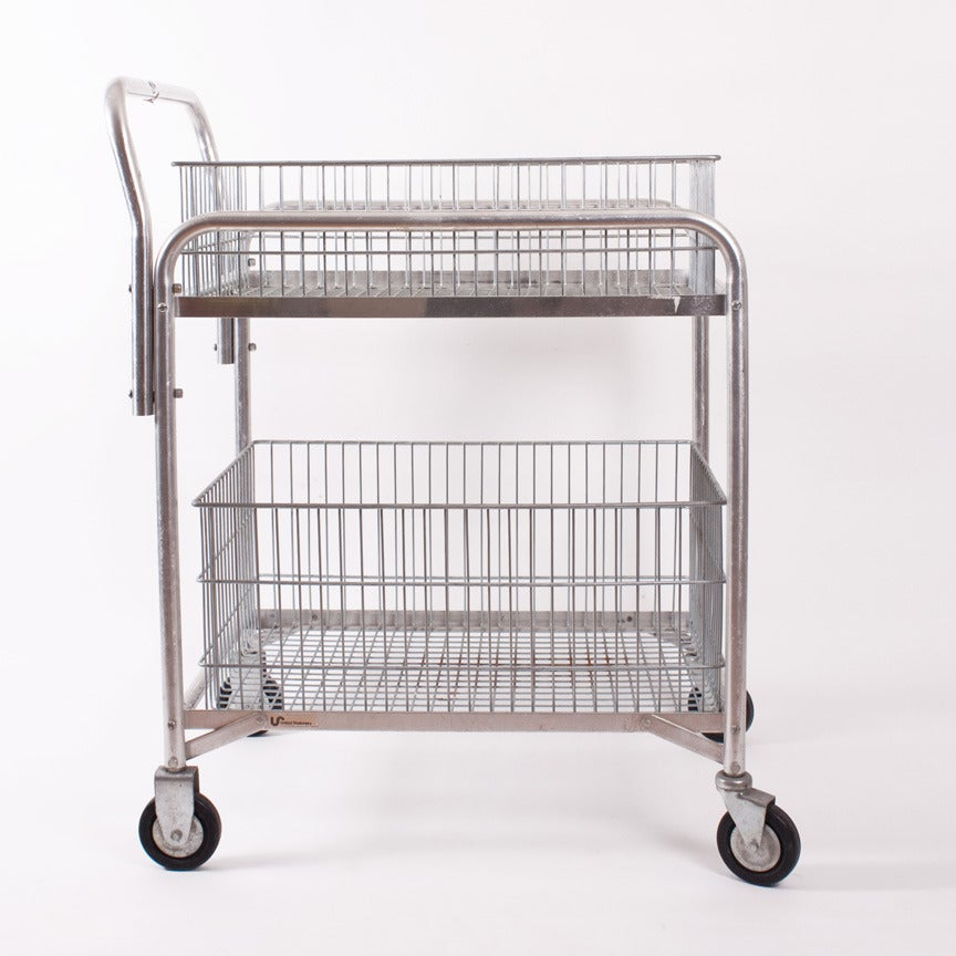 Kipkoo vintage furniture consignment vintage mail cart for Mail order furniture stores