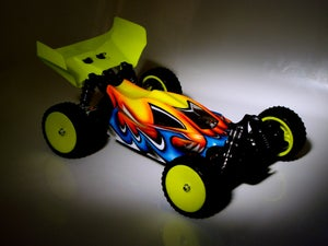 Image of Phat Bodies 'PIRANHA' for Losi Mini-8IGHT, Carisma GTB, Schumacher LC Racing EMB-1