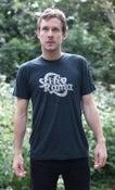 Image of Sci-Fi-O-Rama Logo T-Shirt (Black Aqua)