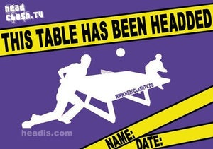"""Image of """"This table has been headded"""" Sticker"""