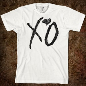 Image of XO Signature Tee- (White/Black)