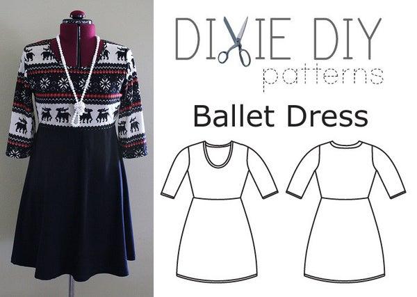Image of Ballet Dress Pattern