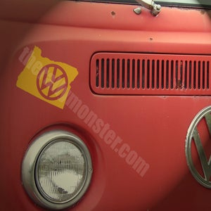 Image of Oregon VW sticker