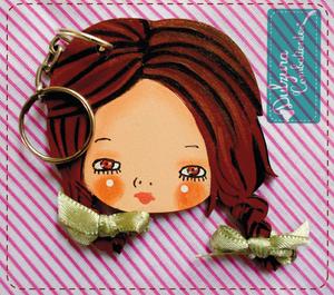 Image of Llavero Cara de Petra Herrera