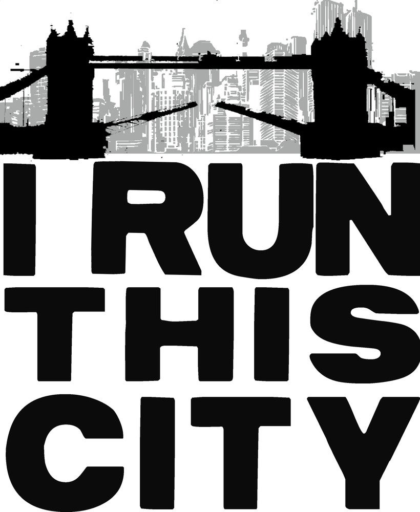 Image of I Run This City (London) - Green