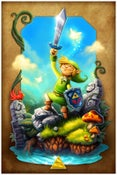 Image of The Legend of Zelda (Limited Edition Print)