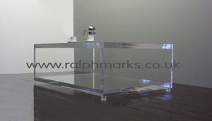 Image of Acrylic Perspex Coffee Table UK