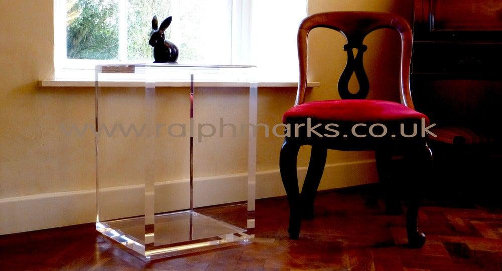 acrylic side table uk
