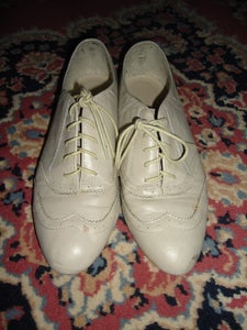 Image of Cream Oxford Shoes