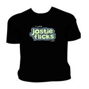 Image of Jostie Flick T-Shirt (Black)