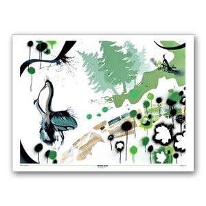 Image of PEET MASSÉ<BR>Heron Kiss  <BR> (Poster)
