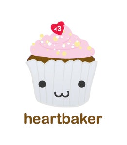 Image of Heart Baker Greetings Card