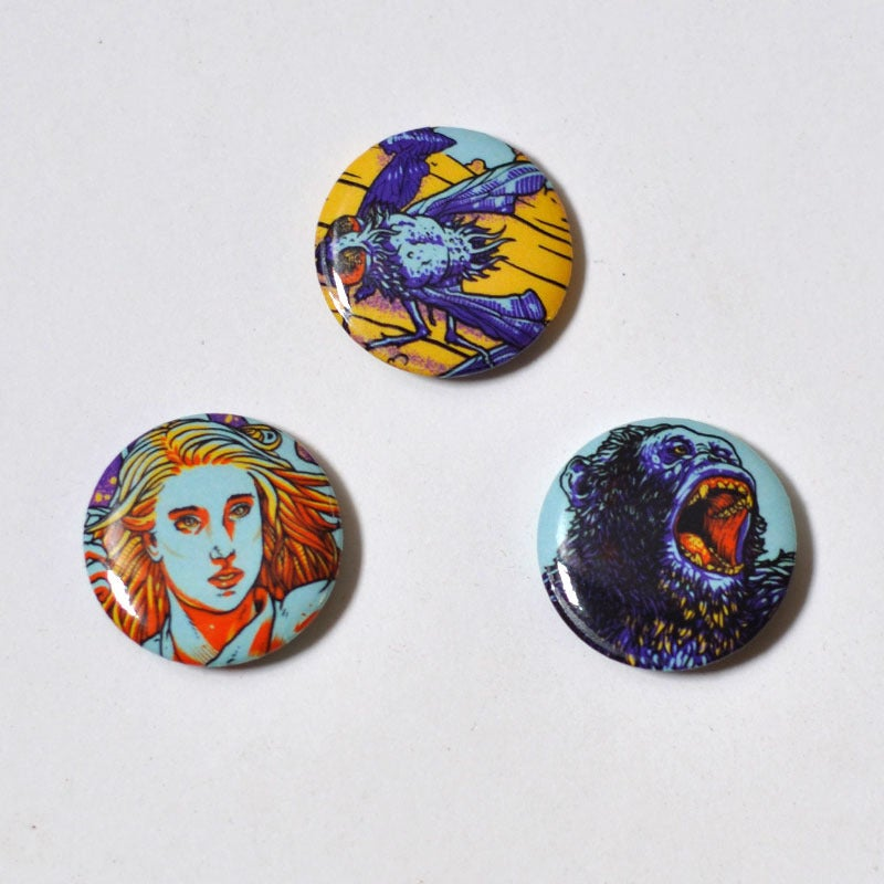 Image of Phenomena Button Pack