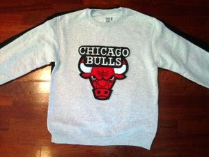 Image of Chicago Bulls Patch crewneck sweat shirt
