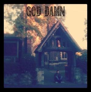 "Image of God Damn - 'God Damn' 7"""