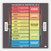 Image of CALENDARIO DE PROPÓSITOS (2012)