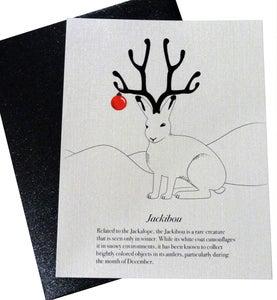 Image of Jackibou Christmas Card