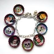 Image of Frida/Skull  Bracelet