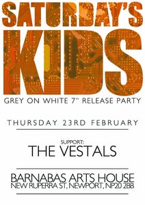 Image of Saturday's Kids Release Party Ticket @ Barnabas Arts House