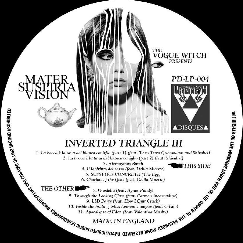 Image of MATER SUSPIRIA VISION - Inverted Triangle III DELUXE VINYL LP