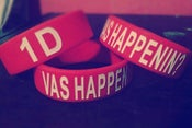 "Image of ""VAS HAPPENIN?"" 1D Bracelet"