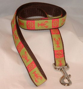 Image of Maine Lady Lobster Dog Leash in the category  on Uncommon Paws.