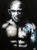 Image of Nick 'Headhunter' Chapman Painting by Ewan Stovell