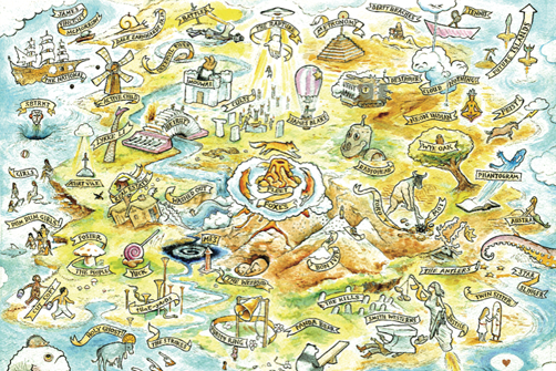 Image of Hype Machine Zeitgeist Map