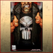 Image of Punisher Color Print