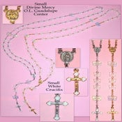 Image of White Butterfly Rosaries