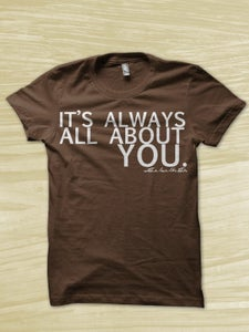 Image of All About You Shirt - Brown