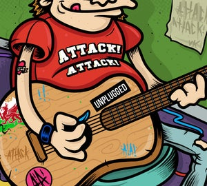 Image of Attack! Attack! Acoustic album SIGNED
