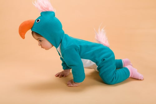 Image of Turquoise Parrot  Costume                                   תחפושת תוכי