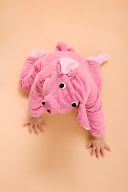 Image of Pink Piggy Costume  תחפושת חזרזיר