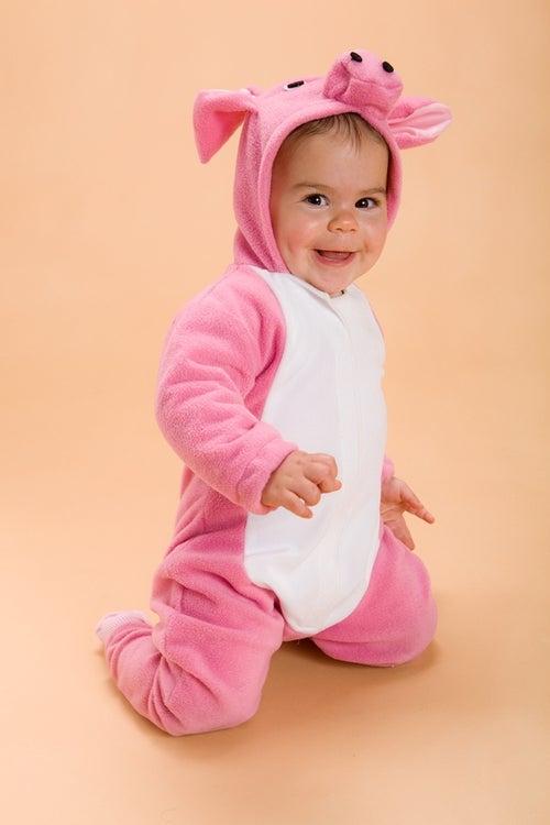 Image of Pink Piggy Costume  תחפושת חזרזיר