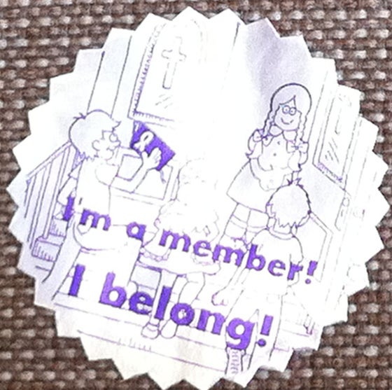 Image of Wordbook Stickers (CHURCH)