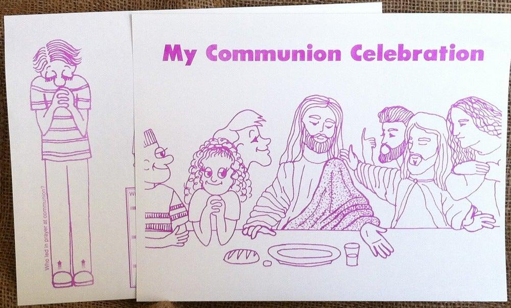 Image of Communion Worksheet