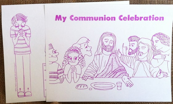 Image of Communion Worksheet