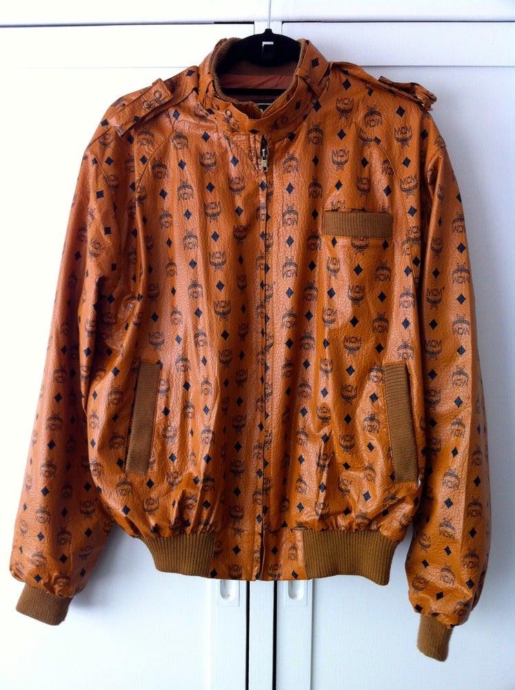 radragz vintage mcm members only style jacket