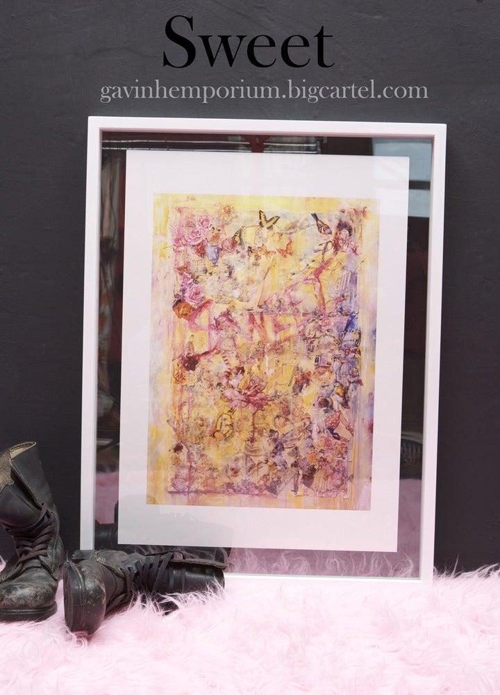 "Image of "" Sweet "" ( large print ) urban, fine art Print."