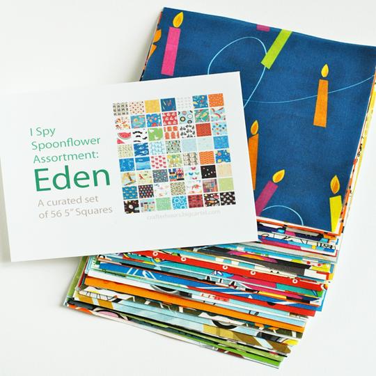 Image of Spoonflower I Spy Assortment: Eden Set
