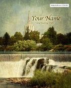 Image of Idaho Falls Idaho LDS Mormon Temple Art 002 - Personalized LDS Temple Art