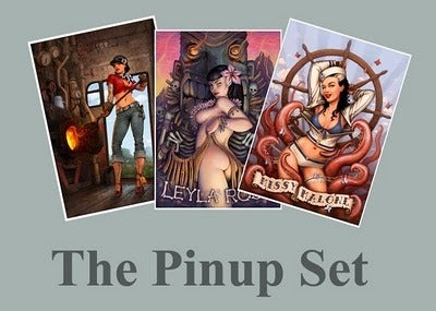 Image of The Pin Up Set