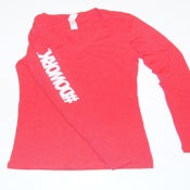 Image of #DOWORK. Long Sleeve (Red)