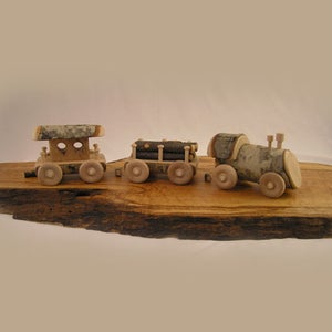 Image of Steam Engine Train Set (3 Piece Set)